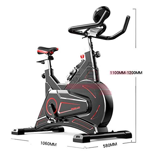Indoor Exercise Bike, Stationary Cycle Device for Seniors, Adults, Men And Women, Upright Cycling Bike with Adjustable Resistances And Digital Display Indoor Cycling Cardio Workout Training Machine 2