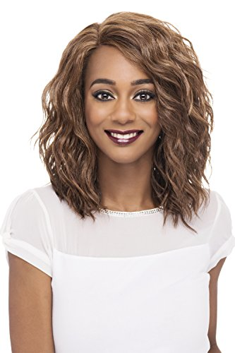 Vivica A Fox Hair Collection Finn - Natural Baby Lace Front Wig, New Futura Hair In Color, STT1B/88, 4.7 Ounce