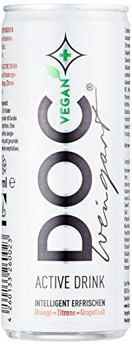 Doc Weingart Active Drink, Dosen, veganer Performance, 24er Pack, EINWEG (24 x 250 ml)