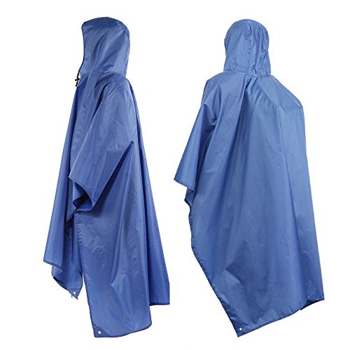 Tsonmall Rain Poncho – Hiking Pack Cover Waterproof Raincoat