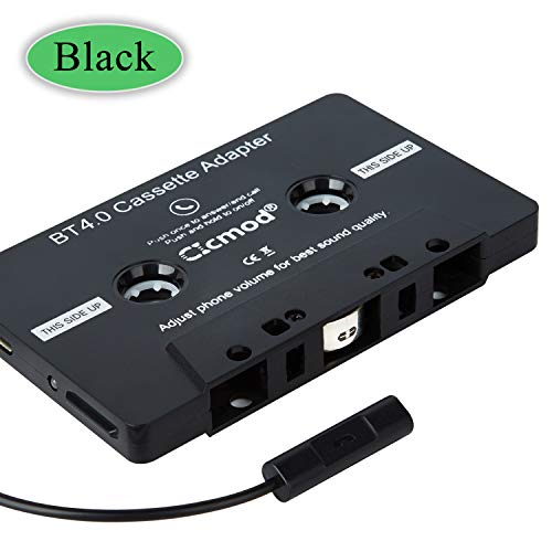CICMOD Adattatore Cassette per Auto Adattatore Cassetta BT 4.0 Cassette Adapter Aux Adattatore...