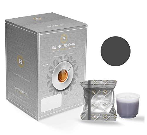 CAFFE' BARBARO Napoli Espresso 4.0 Compatibile Illy iperespresso Miscela Nera 80 pz (Attenzione - NO MACCHINE X7 PROFESSIONAL O MACCHINE PROFESSIONAL - CONTATACI PER LE CAPSULE PROFESSIONAL)