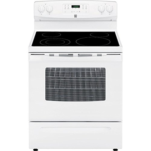Kenmore 94172 5.3 cu. ft. Self Clean Electric Range in White, includes delivery and hookup