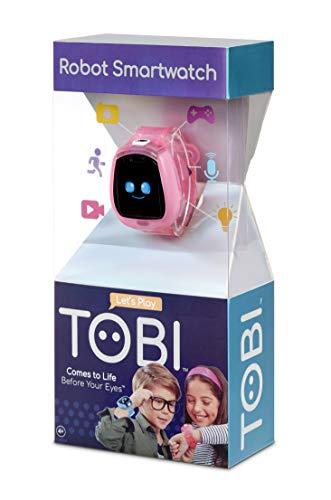 Image 2 - Little Tikes Smartwatch pour enfants Tobi le Robot avec caméras, vidéos, jeux et activités – Rose