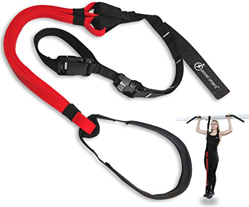 INTENT SPORTS Pull Up Assist Bands - Assistance and Resistance Bands for Pull-Up, Fitness, Body Stretching, Mobility Work, Weightlifting, Powerlifting, Heavy Duty, Single/Set, Exercise Videos, eBook