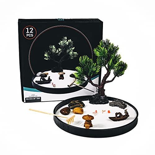 Japanese Zen Garden for Desk, Home Decor, Meditation Gifts. Zen Garden...