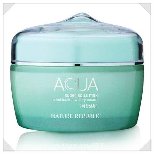 Nature Republic Super Aqua Max Combination Watery Cream_80ml _para combinar tipo de piel