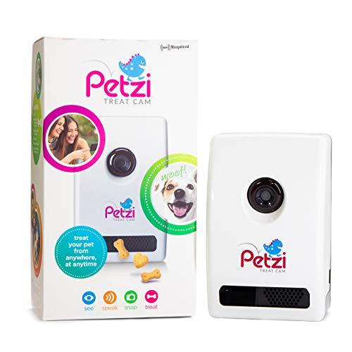 Petzi Treat Cam: Wi-Fi Pet Camera & Treat...