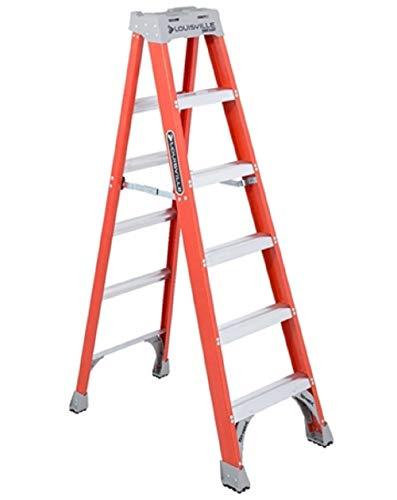Louisville Ladder FS1506 Fiberglass Ladder,...