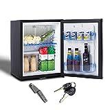 Smad Réfrigérateur Compact 12V/220V,Silencieux, Mini...