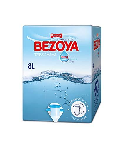 Bezoya – Agua Mineral Natural – 1 Caja x 8 L con Grifo D