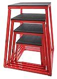 JFIT Plyometric Jump Box Set of 4 - 12', 18', 24', 30'