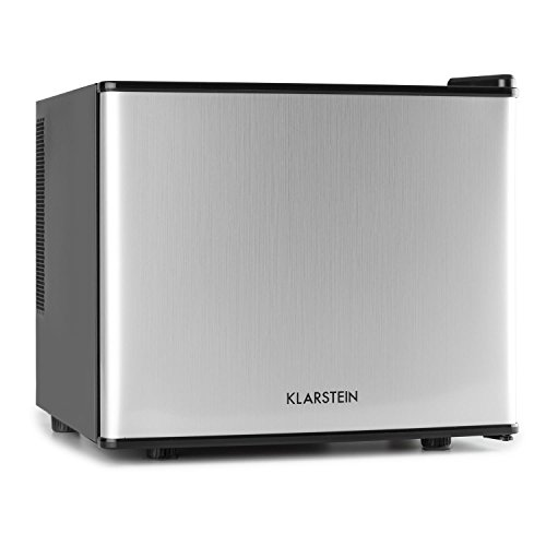 Klarstein Mini frigo,Argento, 38,5 x 33,5 x 41,5 cm