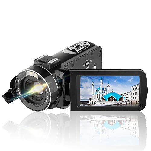 AiTechny 301S-Plus 1080P Video Camera Camcorder