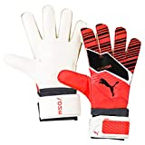 Puma One Grip 4, Guanti Portiere Unisex-Adulto, Nrgy Red Black White, 8