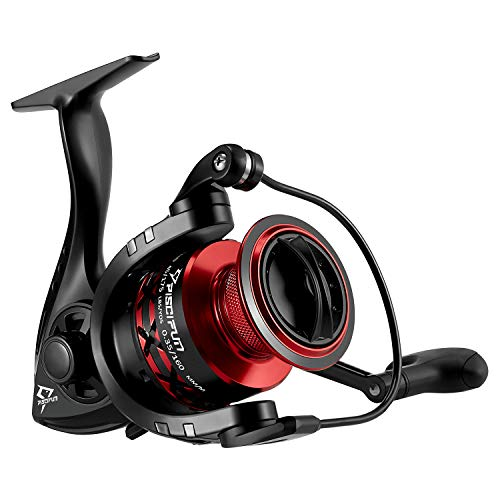 Piscifun Flame Spinning Reels Light Weight Ultra Smooth Powerful Spinning Fishing Reels (2000...