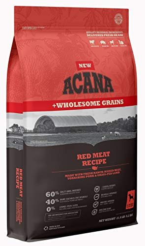 Acana Wholesome Grains Dry Dog Food, Red Meat and...
