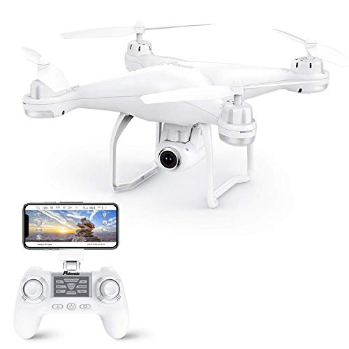 Potensic Drone GPS Telecamera 1080P Drone Professionale T25 Dual GPS con Grandangolare Regolabile Camera HD WiFi FPV Quadricottero Funzione Seguimi modalit Senza Testa