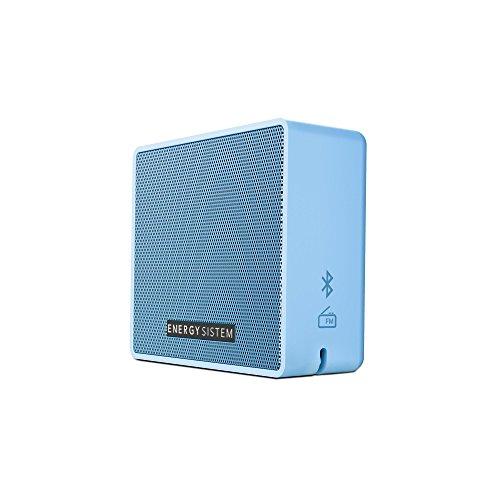 Energy Music Box 1+ (Bluetooth v4.1, 5 W, microSD MP3, FM Radio, Audio-In) - Sky