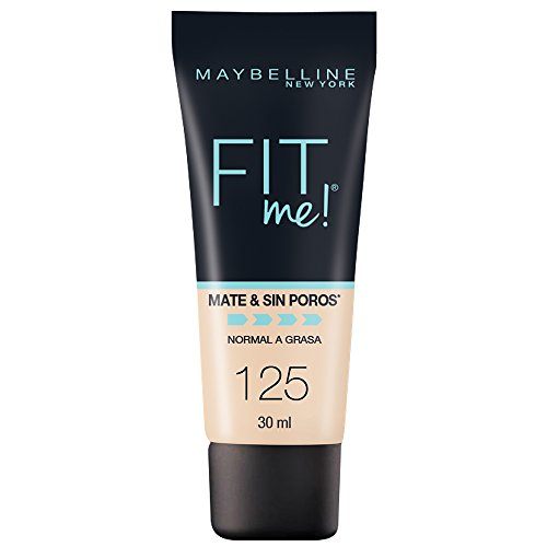 Maybelline Sn Base Matte, 125 Nude Beige, 30 ml, Empaques aleatorios