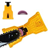 Chainsaw Sharpener,EYBS Portable Chain Saw Blade Teeth Sharpener Work Sharp Fast-Sharpening Stone...