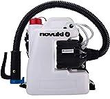 NOVUKI Pulverizador Eléctrico ULV   Mochila para fumigar   Máquina portátil de Desinfección   Depósito de 12 L   220 V