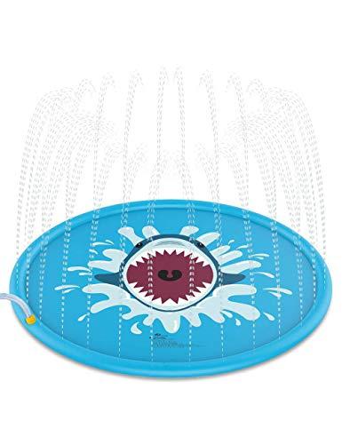 TooFu-Blue-Inflatable-Summer-Fun-Thicken-Toys-Children-Play-Mat-Water-Spray-Mat-Sprinkle-Splash-Play-Pad-for-Outdoor-Lawn-Garden
