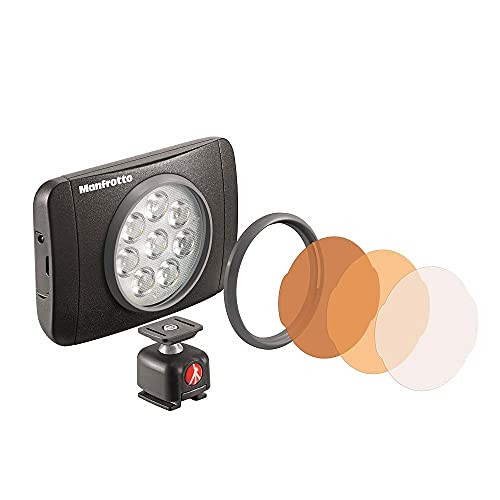 manfrotto LUMI LEDライト 550 lux MUSE MLUMIEMU-BK