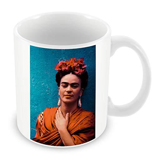 Taza de Cerámica Foto de la Famosa Estrella de Frida Kahlo pintor Original 7