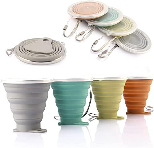 DEHUB Mug à café Portable, Coupe de Voyage légère,FDA et BPA sans Mug...