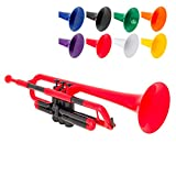 pBone PTRUMPET1R The Plastic Trumpet, Red (2016 version)