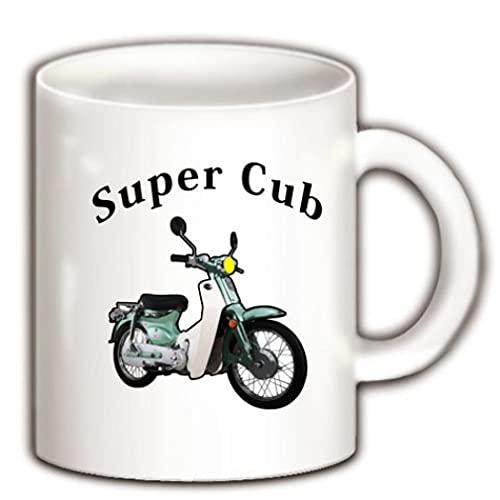 スーパーカブ-002 マグカップ(ホワイト) ホワイト