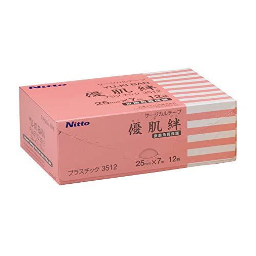 ニトリート 優肌絆プラスチック 3512(25MMX7M)12カンイリ ニトムズ 日東メディカル