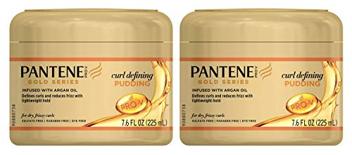 Pantene Gold Series Pudding Curl Defining 7.6 Ounce Jar (225ml) (2 Pack)