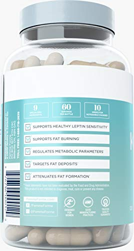 Femme Forme Kindle Fat Burner for Women: Top Rated Diet Pills and Weight Loss for Women Supplement, Formulated with Green Tea Extract (EGCG) to Boost Metabolism and Burn Body Fat, 120 Capsules 7