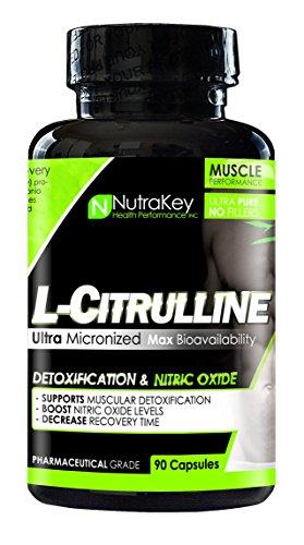 Nutrakey L-Citrulline Malate 90 Capsules by Nutrakey