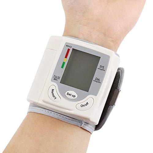 HJUNH Misuratore della Pressione arteriosa Domestico Automatico per misuratori di Pressione...