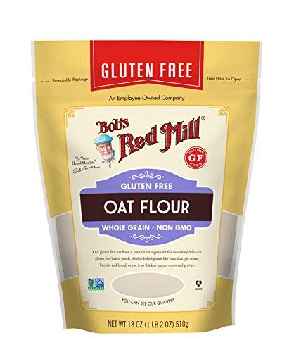 Gluten Free Oat Flour, 18 Ounce (Pack of 1)