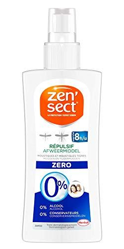 Zen'Sect Lotion Corporelle Répulsive 0% Moustiques & Moustiques Tigres –...