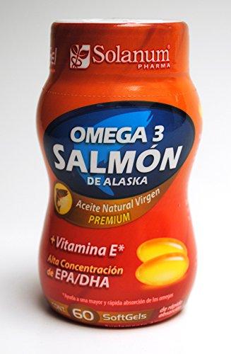 Omega 3 Salmón de Alaska mas Vitamina E