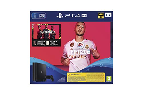 PlayStation 4 (PS4) +FIFA20/FUTVCH/Psy 14 días PS4 Pro 1TB G/SPA