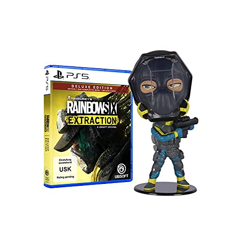 Rainbow Six Extraction - Deluxe Edition - [PlayStation 5] + Ubisoft Six Collection - Lion Figur (Rainbow Six Extraction)