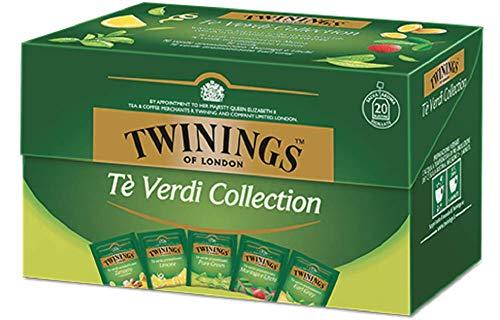 Twinings T Verde Collection - Confezione Speciale 5 diversi T Verdi: Pure Green Tea, T Verde...