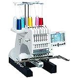 Janome 001MB7 Multi-Needle Embroidery Machine, White