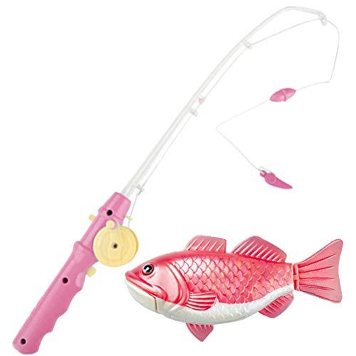 Phayee Giocattolo da Pesca Magnetico, Galleggiante, con calamita, per la Vasca da Bagno, per la Piscina, per Bambini dai 3 Anni in su, Colore Casuale