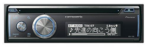 カロッツェリア(パイオニア) カーオーディオ DEH-7100 1DIN CD/USB/Bluetooth