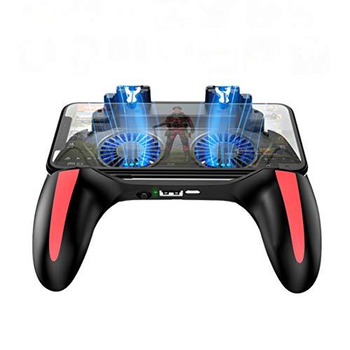 QWQ Gamepad, Gamepad Pubg Doppio Controller del Dispositivo di Raffreddamento del Ventilatore 5000...