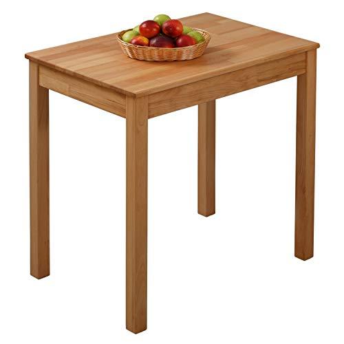Krok Wood Tavolo da pranzo Tomas in Legno Massello in Faggio 70x50x75 cm