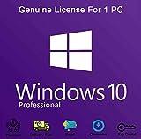 Windows 10 Professional 32-bit e 64-bit, chiave di licenza del prodotto originale, OEM, garanzia di attivazione al 100% [Consegna via email]