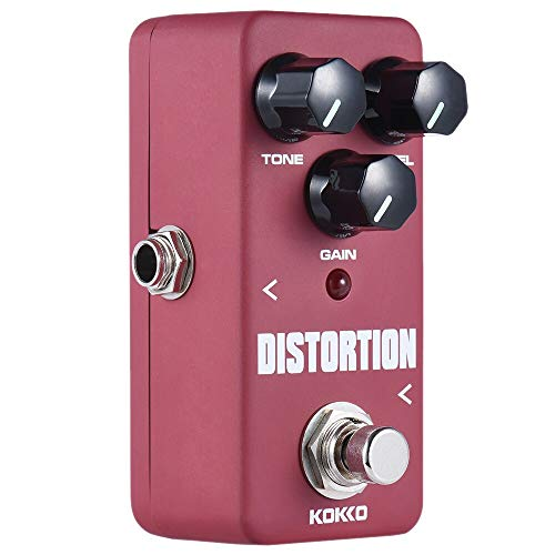 FDS2 Mini Distortion Pedal Portable Guitar Effect Pedal Guitar Accessories Musical Instrument